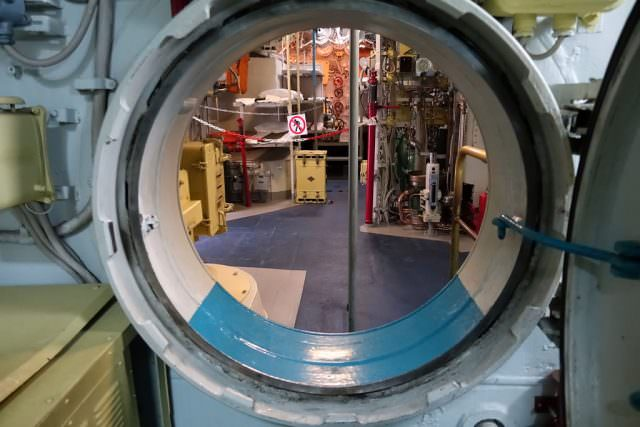 Inside a Russian Submarine - © K.D. Leperi