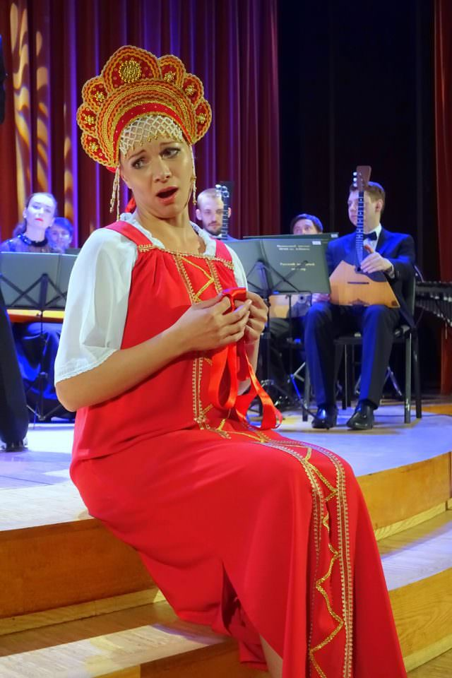 Special musical performance for Viking guests only in Moscow - © K.D. Leperi