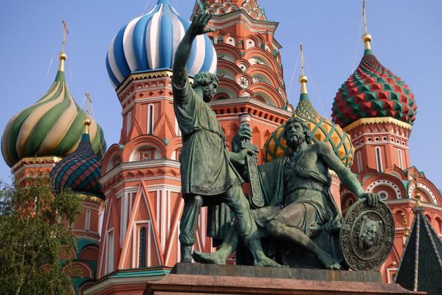 St. Basil's Cathedral in Red Square - © K.D. Leperi