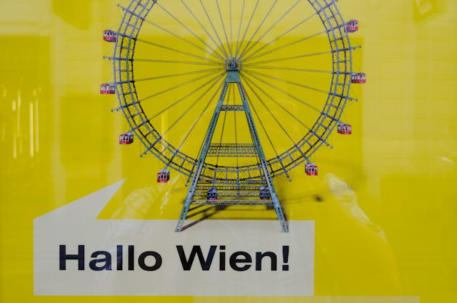No visit to Vienna is complete without a trip to the Prater's famous Ferris wheel. Photo © 2014 Aaron Saunders