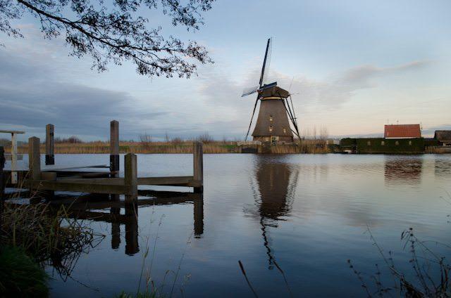 See the historic windmills of Kinderdijk, Netherlands. Photo © 2013 Aaron Saunders