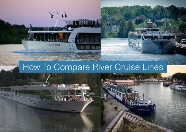 compare river cruise lines