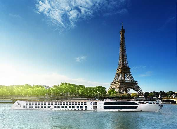 niworld's new S.S. Joie de Vivre begins operating on the Seine in March of 2017. Rendering courtesy of Uniworld Boutique River Cruise Collection.