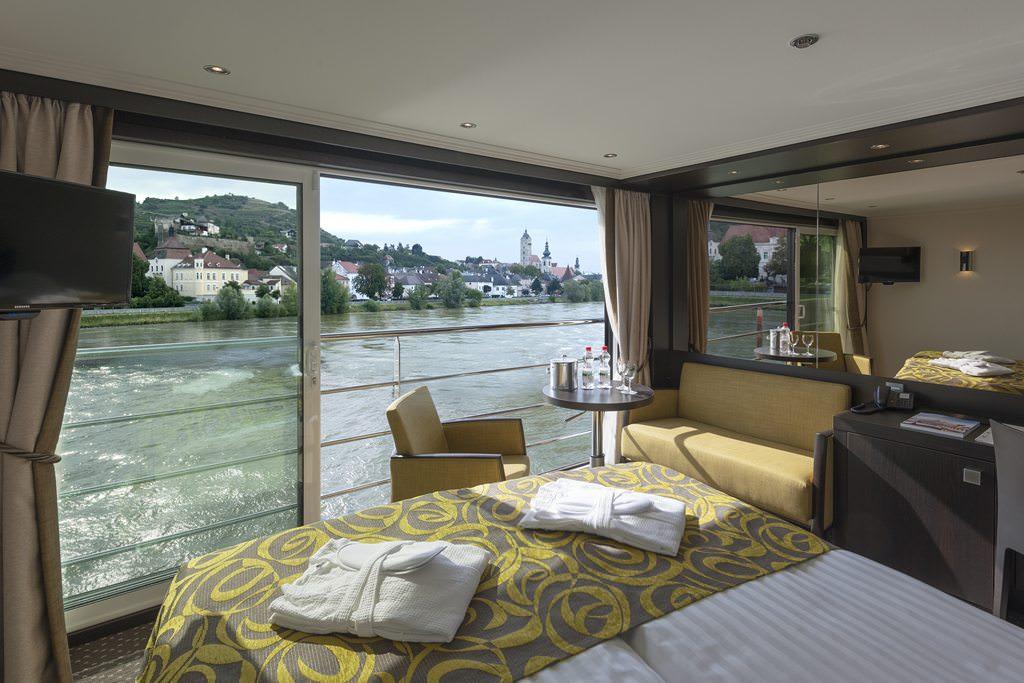 Avalon Panorama Suite. Photo courtesy of Avalon Waterways.