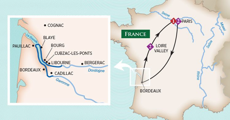 AmaWaterways Bordeaux River Cruises