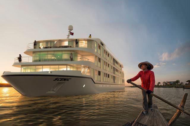 Scenic Spirit on the Mekong. Render courtesy of Scenic.