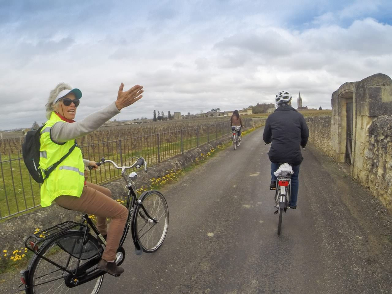 Cycling To Saint-Émilion