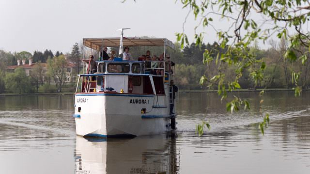 Boat To Snagov Monastery
