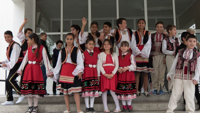 We visited a school in Alfatar, Bulgaria, supported in part by Emerald Waterways. © 2016 Ralph Grizzle