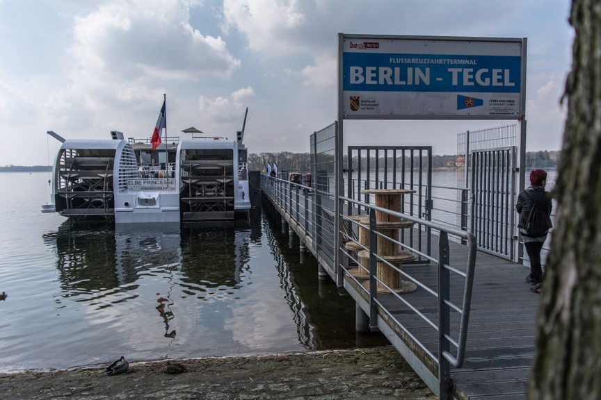 Two stern-mounted paddlewheels allow Elbe Princesse to sail into the heart of both Berlin and Prague. Photo © 2016 Aaron Saunders
