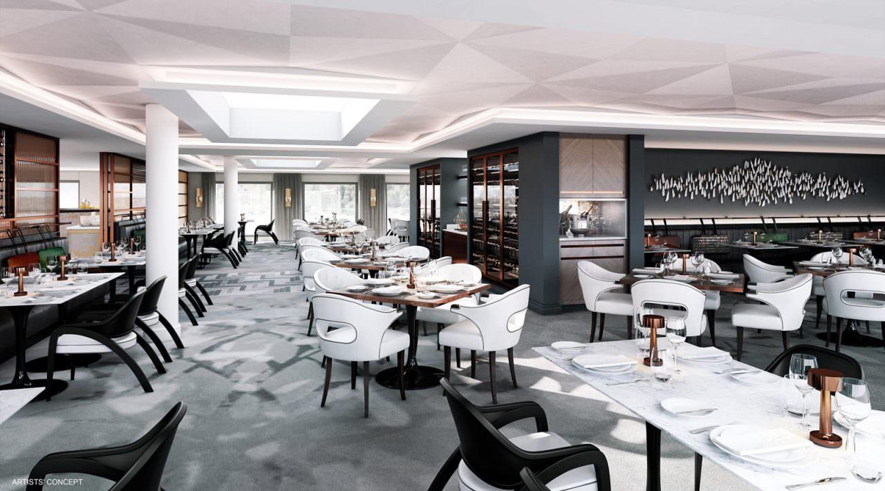 Crystal Mozart Restaurant Rendering