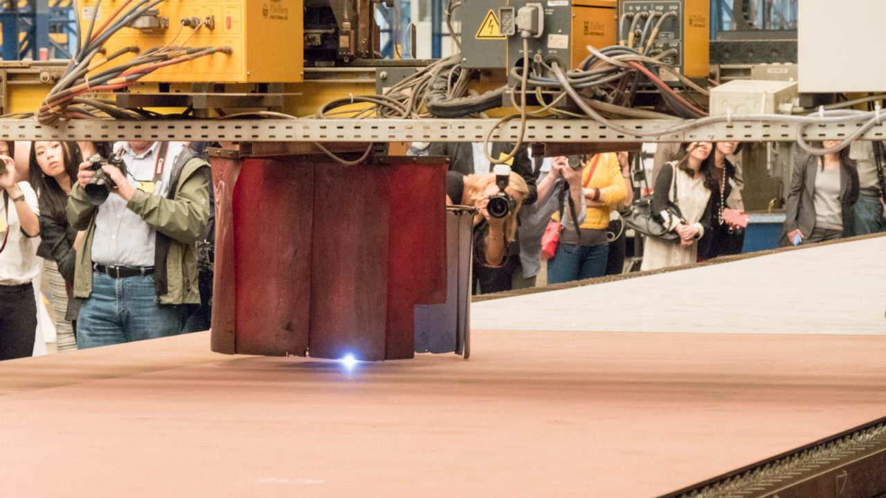 Steel-cutting