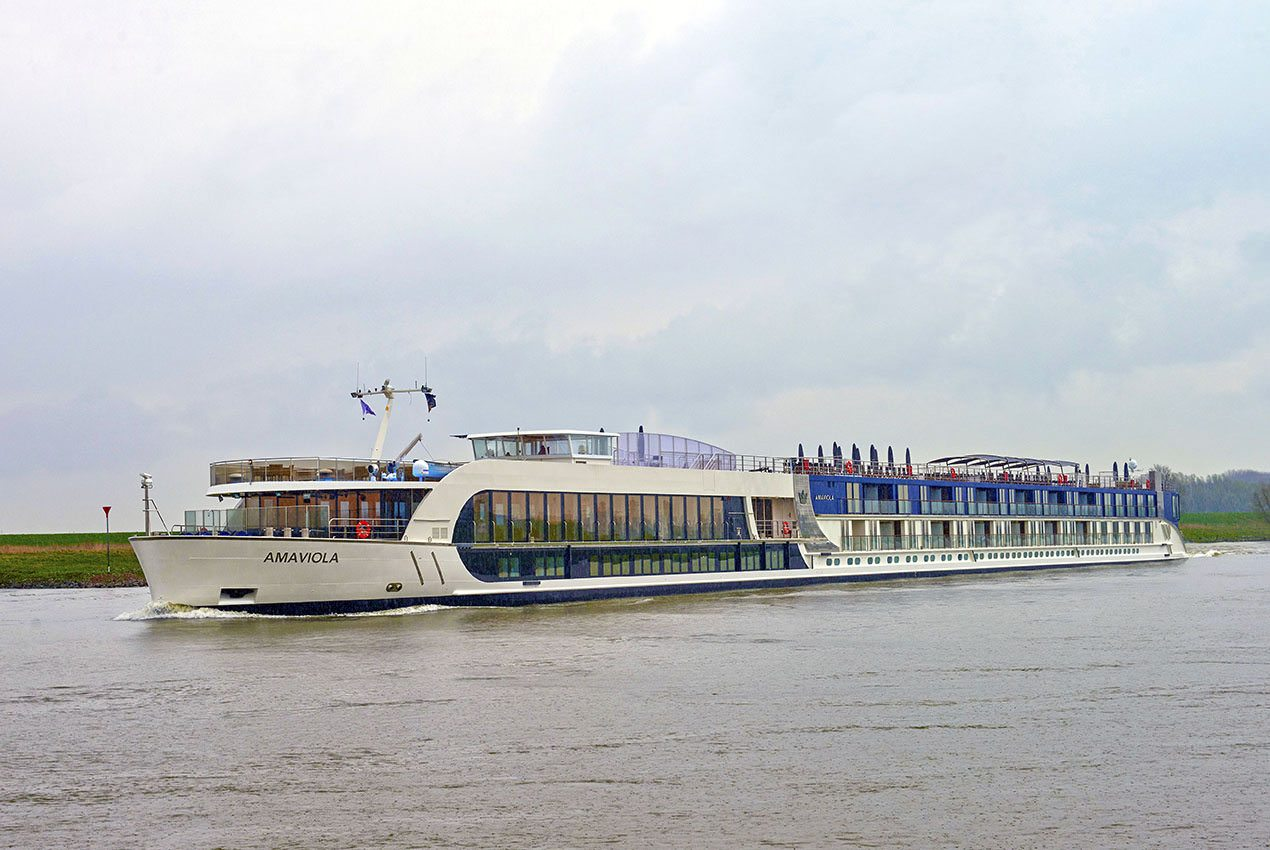 AmaWaterways' AmaViola. Photo courtesy of AmaWaterways.