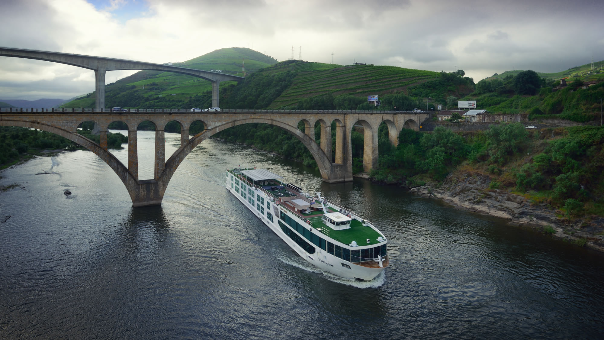 Scenic Azure on the Douro. Photo courtesy of Scenic.