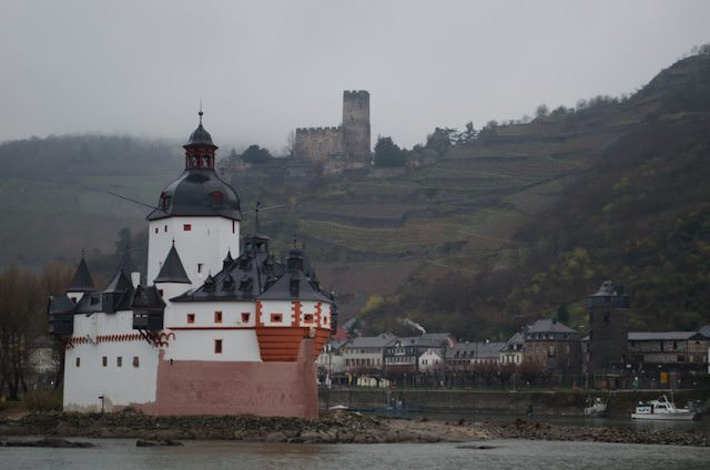 Do you love castles? You'll love the Rhine. Photo © 2013 Aaron Saunders