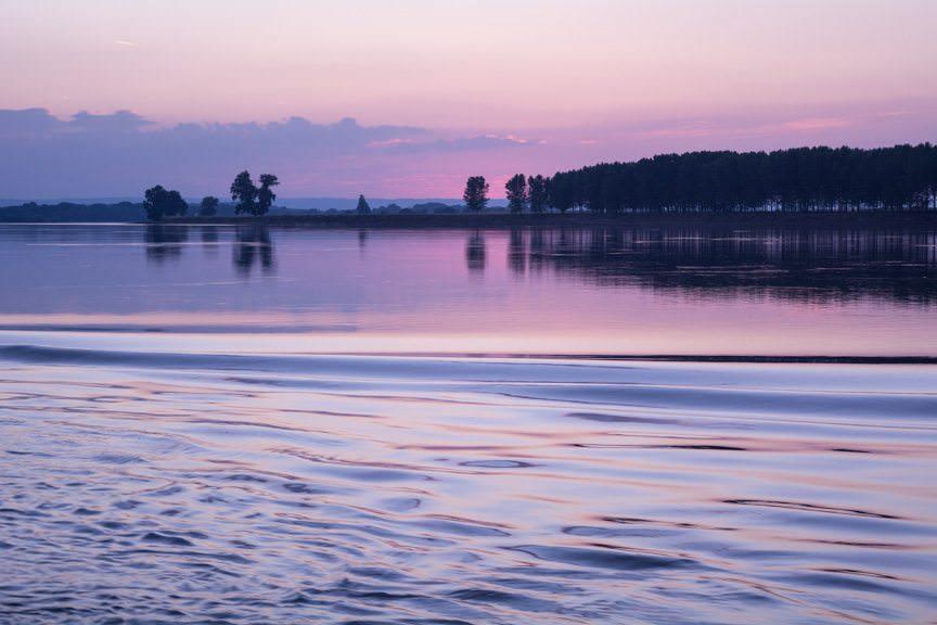 ...spectacular sunset! Photo © 2016 Aaron Saunders