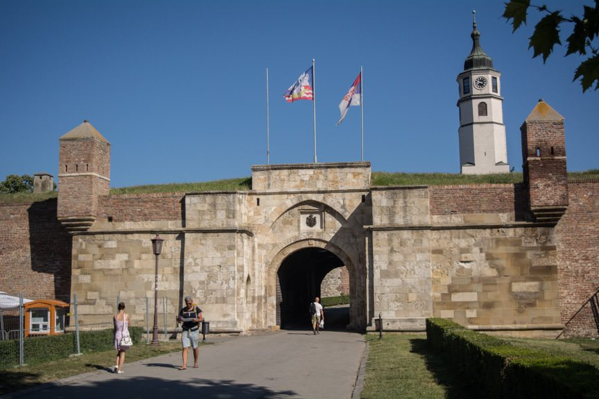 Belgrade's Kalemegdan Fortress was the first stop on our included Panoramic City Tour offered by Viking River Cruises. Photo © 2016 Aaron Saunders