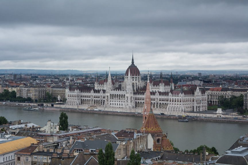 Today, Viking's Passage to Eastern Europe voyage continued with a post-cruise stay in Budapest, Hungary. Photo © 2016 Aaron Saunders