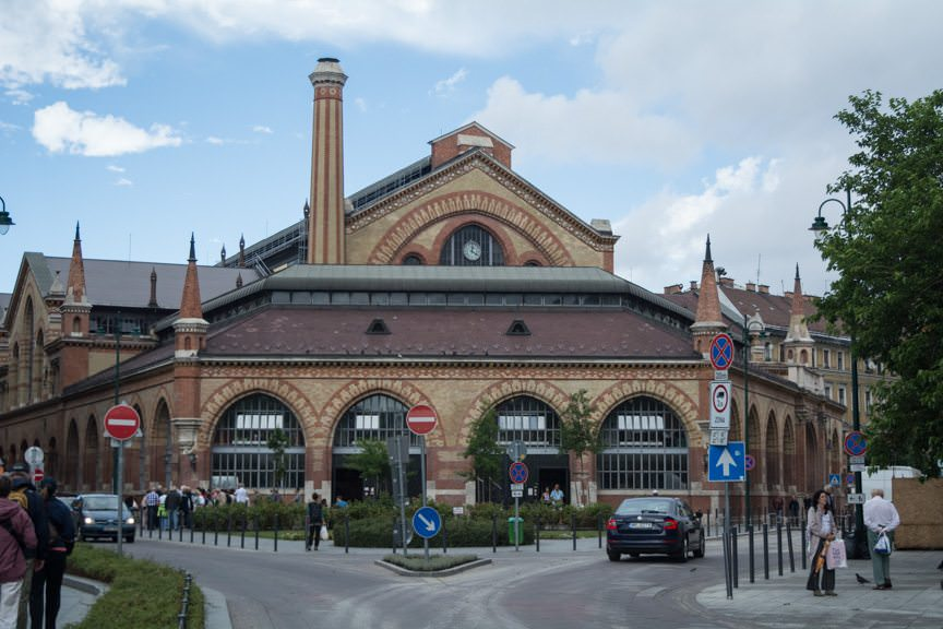 Budapest's Great Market Hall is the oldest of its kind in the city. Photo © 2016 Aaron Saunders