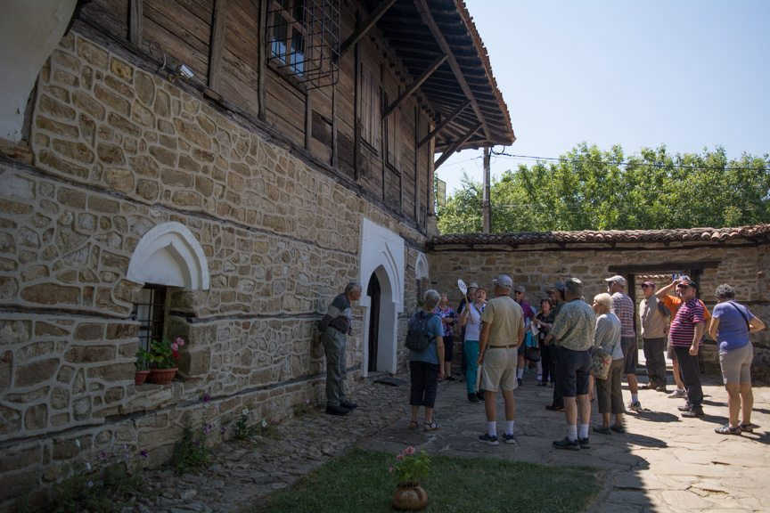 ...guests visited a historic home to learn about the traditional Bulgarian way of life. Photo © 2016 Aaron Saunders