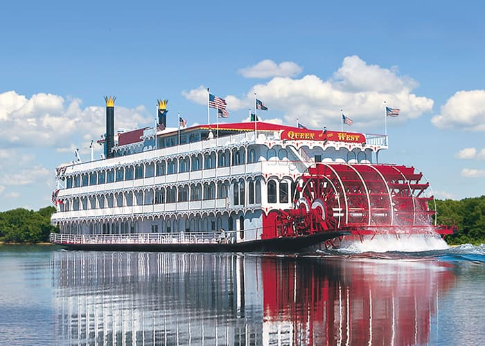 American Cruise Line's classic Queen of the West. Photo courtesy of American Cruise Lines.