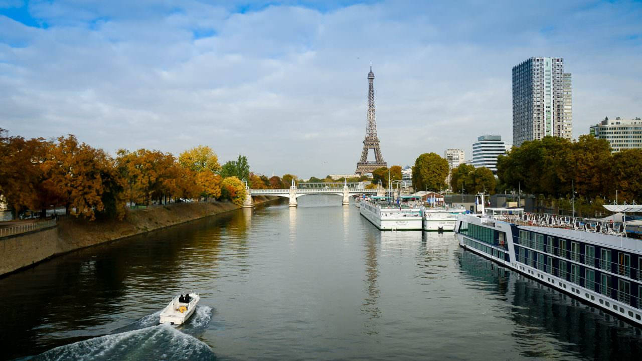 Paris on a beautiful October day. © 2016 Ralph Grizzle