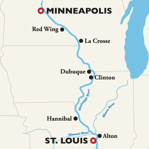 Mississippi River Cruises (2019 update) - River Cruise Advisor