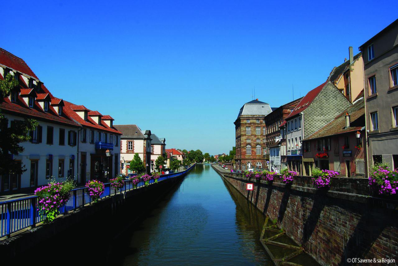 Canaux-Alsace-Marne-Rhin-Saverne-44390©Office du Tourisme de Saverne et sa region