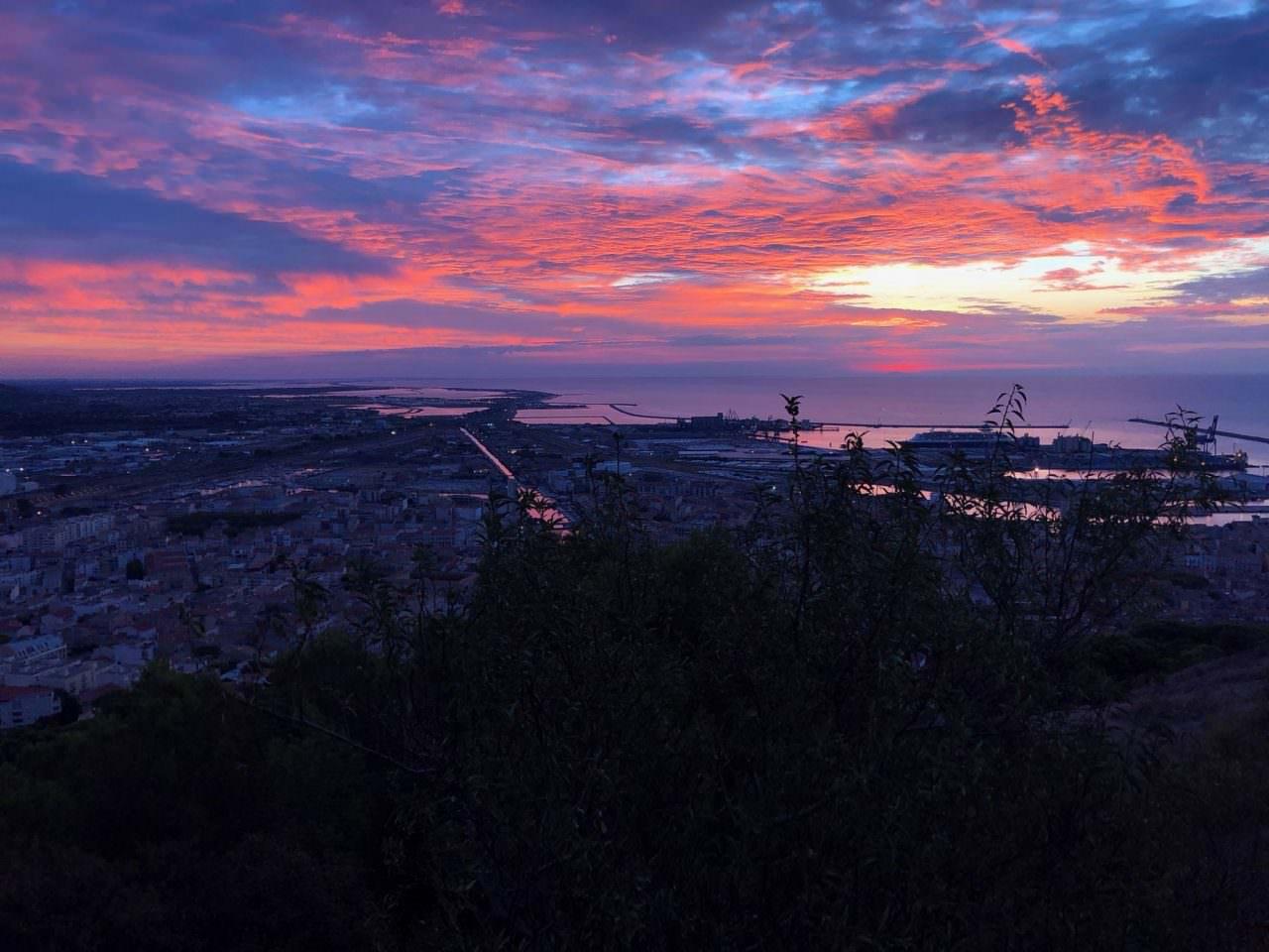 sunrise in sete
