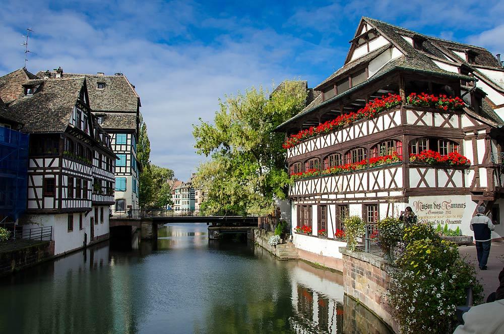 Canaux-Alsace-Marne-Rhin-Strasbourg-Petite-France-45144©Bill Maloney