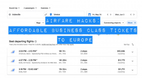 airline ticket hacks