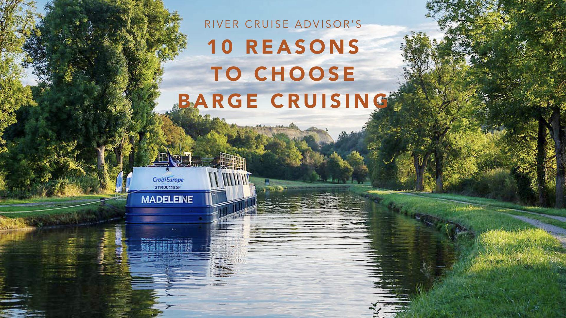 2020 Barge Cruises