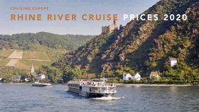 Rhine River Cruise Prices 2020