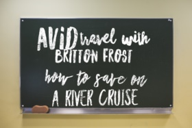 Avid travel with Briton Frost