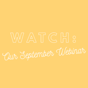 watch our September webinar
