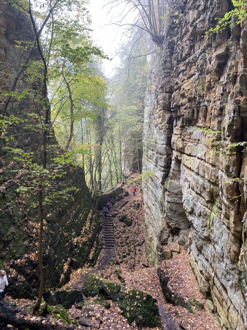 Hiking Little Switzerland